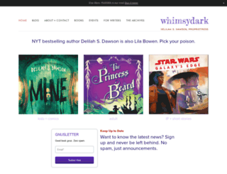 whimsydark.com screenshot