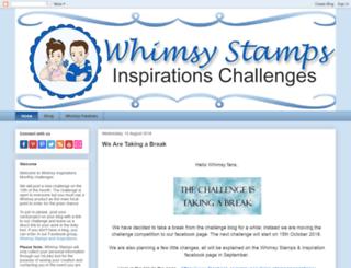 whimsyinspires.blogspot.co.uk screenshot