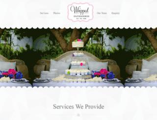whipped-cakes.co.za screenshot