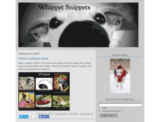 whippetsnippets.com screenshot