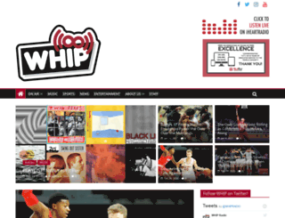 whipradiotu.com screenshot