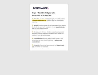 whipstudio.teamworkpm.net screenshot