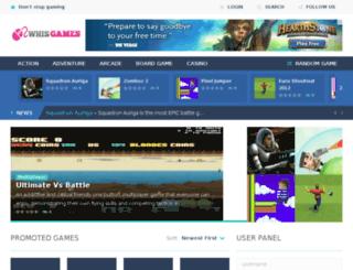 whisgames.com screenshot