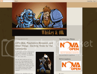 whiskey40k.blogspot.com screenshot