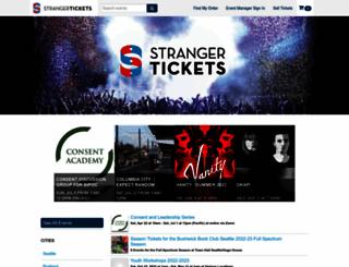whiskeyfestnw.strangertickets.com screenshot
