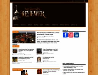 whiskeyreviewer.com screenshot