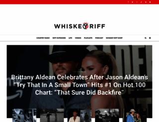 whiskeyriff.com screenshot