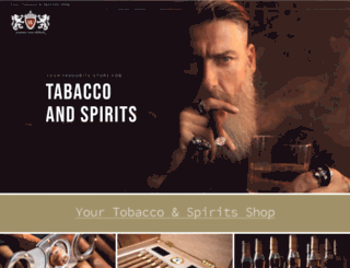 whisky-and-spirits.com screenshot