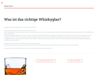 whisky-glas.de screenshot
