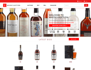 whisky.auction screenshot