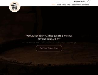 whiskyguild.com screenshot