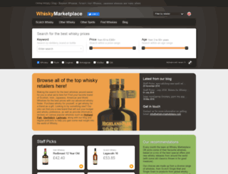 whiskymarketplace.co.uk screenshot