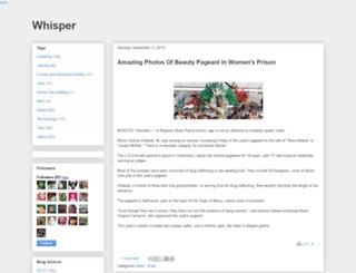 whisper4ever.blogspot.ae screenshot