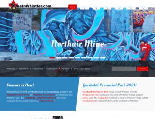 whistlerhiatus.com screenshot