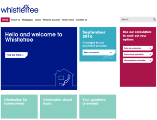 whistletree.com screenshot