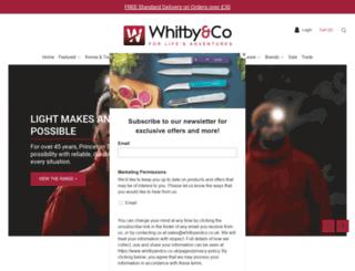 whitbyandco.co.uk screenshot