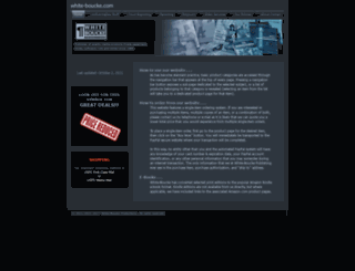 white-boucke.com screenshot