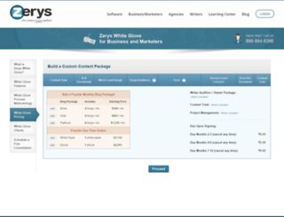 white-glove.zerys.com screenshot