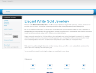 white-gold-jewellery.com screenshot