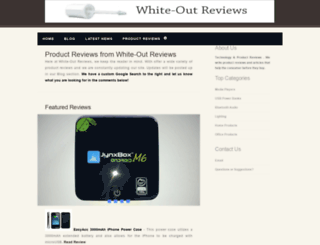 white-outreviews.com screenshot
