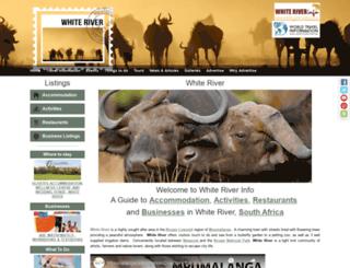 white-river-info.co.za screenshot