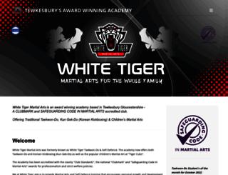 white-tiger-tkd.com screenshot