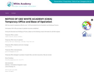 white.gee-edu.com screenshot