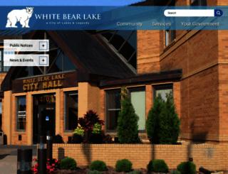 whitebearlake.org screenshot