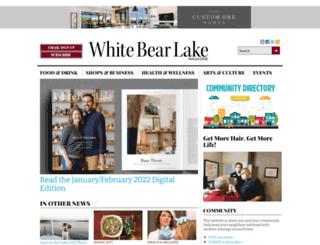 whitebearlakemag.com screenshot