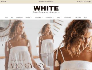 whitebohemian.com.au screenshot