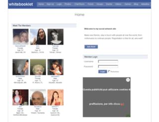 whitebooklet.ezsitepanel.com screenshot
