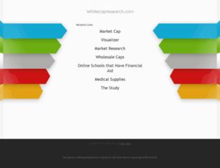whitecapresearch.com screenshot
