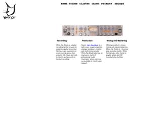 whitecatproductions.com screenshot