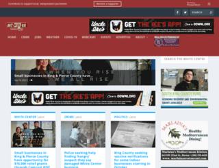 whitecenterblog.com screenshot