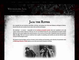 whitechapeljack.com screenshot