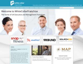 whitecollarfranchise.co.uk screenshot