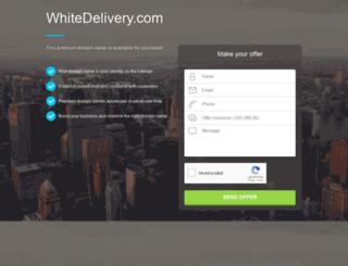 whitedelivery.com screenshot