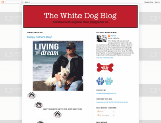 whitedogblog.com screenshot