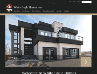 whiteeaglehomes.ca screenshot