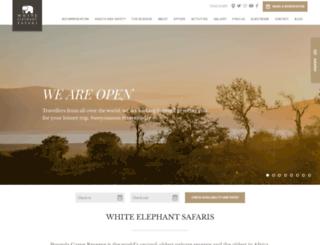 whiteelephant.co.za screenshot