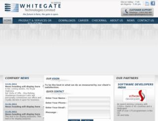 whitegatetech.com screenshot