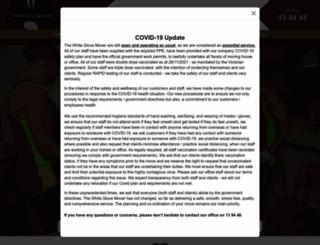 whiteglovemover.com.au screenshot