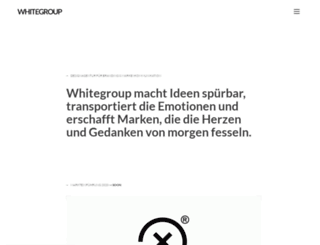 whitegroup.de screenshot