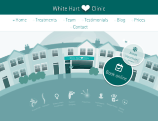 whitehartclinic.co.uk screenshot
