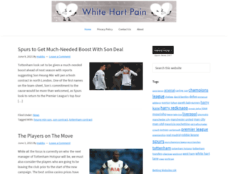 whitehartpain.com screenshot
