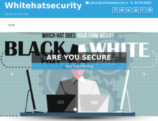 whitehatsecurity.in screenshot