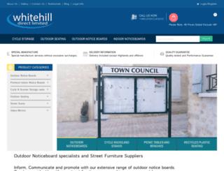 whitehilldirect.co.uk screenshot