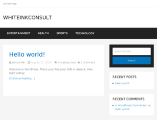 whiteinkconsult.com screenshot