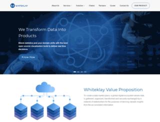 whiteklay.com screenshot