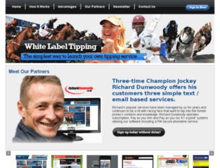 whitelabel-tipping.com screenshot